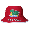 KID'S BUCKET HAT- OGOPOGO RED