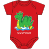 Ogopogo Onesie Red